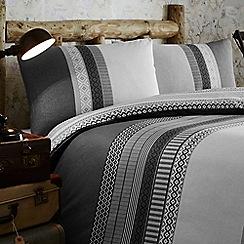 Home Collection - Braxton fairisle stripe bedding set