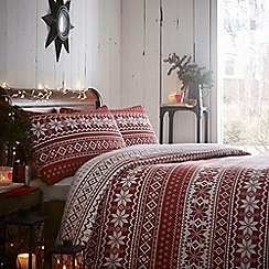 Home Collection - Fairisle bedding set