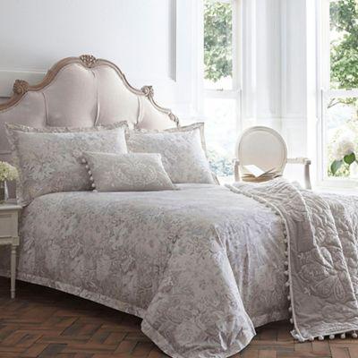 Home Collection Silver 39 Mila 39 Bedding Set Debenhams