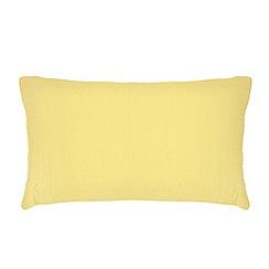 Home Collection - Green rectangular cushion