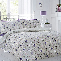 Home Collection - White floral bedding set