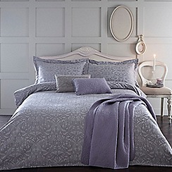 Home Collection - Lilac jacquard 'Georgia' bedding set