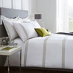 J by Jasper Conran - White 'Amberley' bed linen