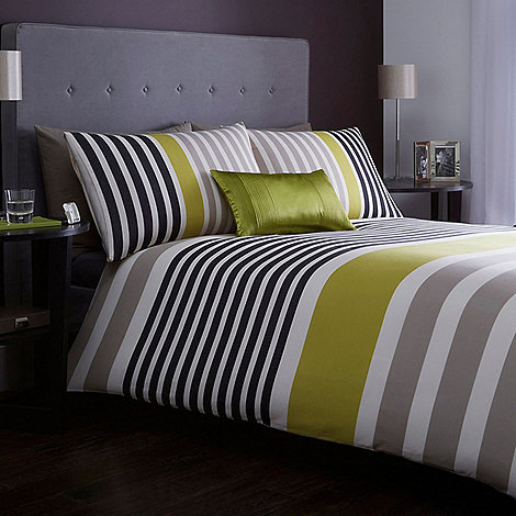 J By Jasper Conran Green Pimlico Duvet Cover Debenhams