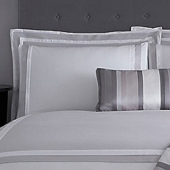J by Jasper Conran - Grey 'Langham' 240 thread count pillow case pair