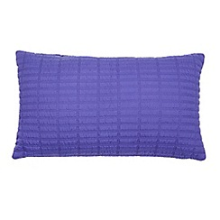 J by Jasper Conran - Bright blue quilted cushion