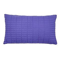 J by Jasper Conran - Bright blue quilted cushion