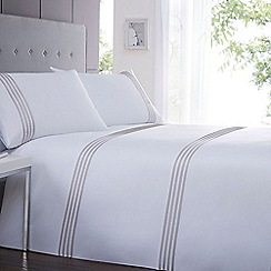 J by Jasper Conran - Sanderson white bedding set