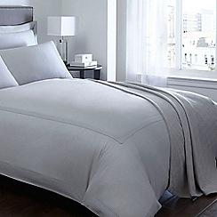 J by Jasper Conran - Silver 'Eaton' sateen bed linen