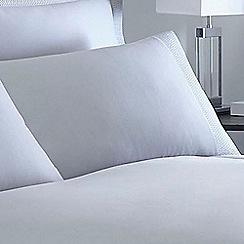 J by Jasper Conran - Silver 'Eaton' pillow case pair