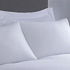 J by Jasper Conran - White 'Eaton' Oxford pillow case pair