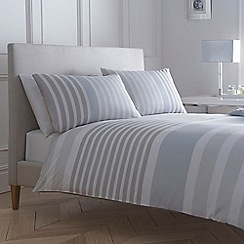 J by Jasper Conran - Light blue striped 'Pimlico' bed linen