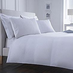 J by Jasper Conran - 'Whitehall' white bed linen