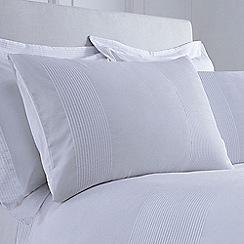J by Jasper Conran - White 'Whitehall' pillow case pair