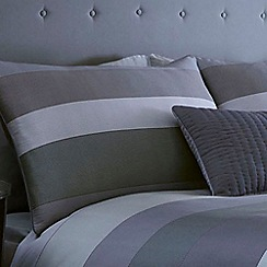 J by Jasper Conran - Grey 'Warwick' pillow case pair