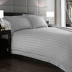 J by Jasper Conran - Silver 'Hotel Capri' 500 thread count fitted sheet
