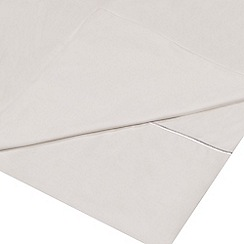 J by Jasper Conran - White Supima cotton 500 thread count flat sheet
