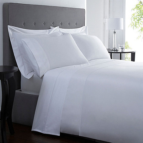 designers at debenhams white 500 thread count supima. Black Bedroom Furniture Sets. Home Design Ideas