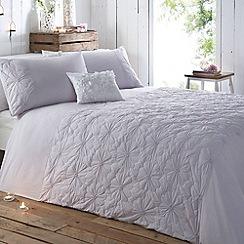 RJR.John Rocha - Lilac padded 'Shianti' bed linen