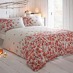 RJR.John Rocha - White printed floral 'Raydi' bedding set