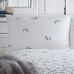 RJR.John Rocha - White 'Misty stems' pillow case pair