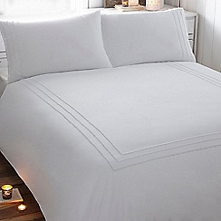 RJR.John Rocha - Designer white border cotton bedding set
