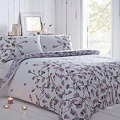 RJR.John Rocha - Designer lilac floral bedding set