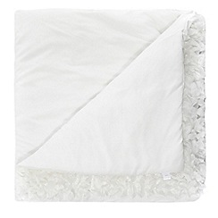 RJR.John Rocha - White textured throw