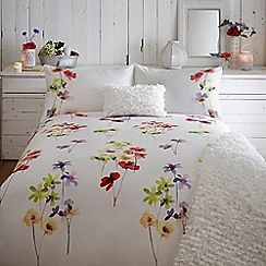 RJR.John Rocha - Cream 'Joy' duvet cover
