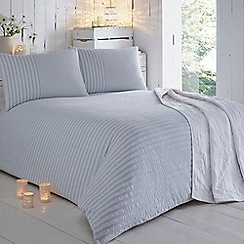 RJR.John Rocha - Aqua striped print bedding set