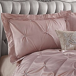 Star by Julien Macdonald - Rose 'Rosette' Oxford pillow case pair