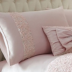 Star by Julien Macdonald - Pink 'Arrietta' pillow case pair