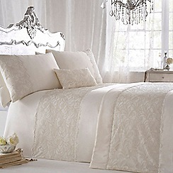 Star by Julien Macdonald - Ivory 'Lillian' duvet cover