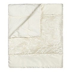 Star by Julien Macdonald - Designer ivory 'Lillian' throw