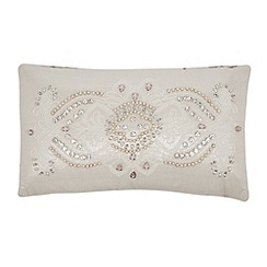 Star by Julien MacDonald - Designer metallic beaded cushion