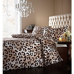 Star by Julien Macdonald - Animal print 'Sahara' bedding set
