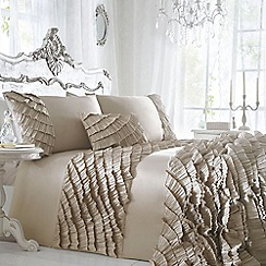 Star by Julien Macdonald - Designer gold 'Safia' bed linen