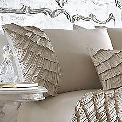 Star by Julien Macdonald - Gold 'Safia' pillow case pair