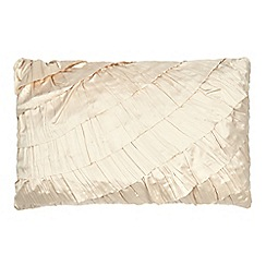 Star by Julien Macdonald - Gold 'Safia' satin cushion