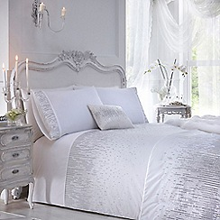Star by Julien Macdonald - White 'Layla' duvet cover