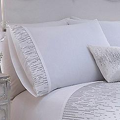 Star by Julien Macdonald - White 'Layla' pillow case pair