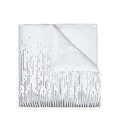 Star by Julien Macdonald - White sequin throw