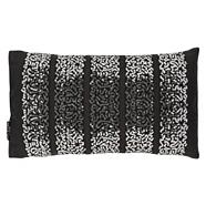 Black 'Safia' sequin cushion