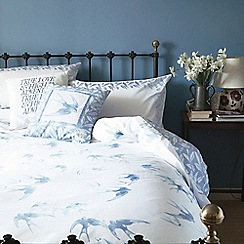 Emma Bridgewater - Light blue 'Swallows' bed linen