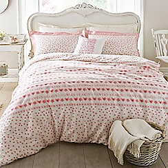 Emma Bridgewater - Pink 'Hearts and Flowers' bed linen