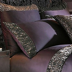 Kylie Minogue at home - Purple 'Astor' 200 thread count pillow case
