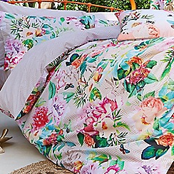 Accessorize - White 'Digital Botanical' fitted sheet