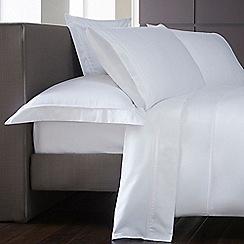 J by Jasper Conran - White 1000 thread count flat sheet