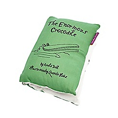 LEGO - Green Roald Dahl book cushion