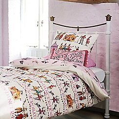 Emma Bridgewater - Kids' white 'Circus' duvet cover and pillow case set